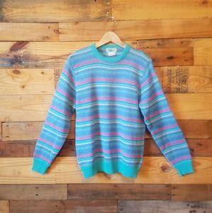 Vintage L.L. Bean Sweater Wool Blend Size Large